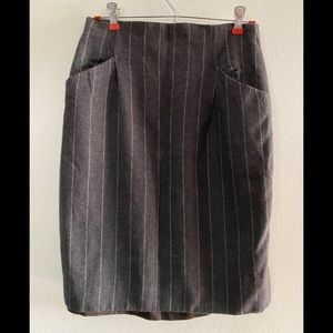 Christian Dior Wool skirt